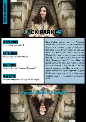 Affiche de Jack Parker pour l'exposition Women in Numérique